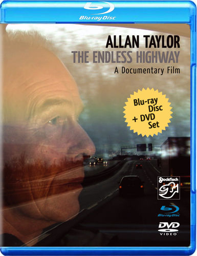 ALLAN TAYLOR - The Endless Highway • blu-ray + DVD