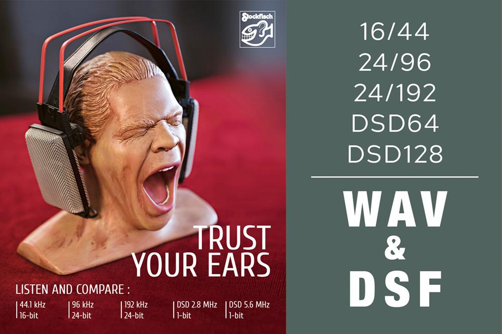 Trust Your Ears - Listen & Compare - WAV & DSF