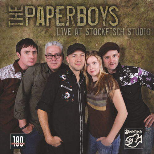 THE PAPERBOYS - live at Stockfisch Studio • LP