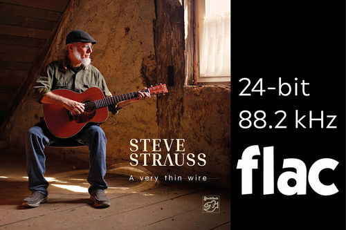 Steve Strauss - A Very Thin Wire - HiRes-Files 24bit/88.2kHz .flac